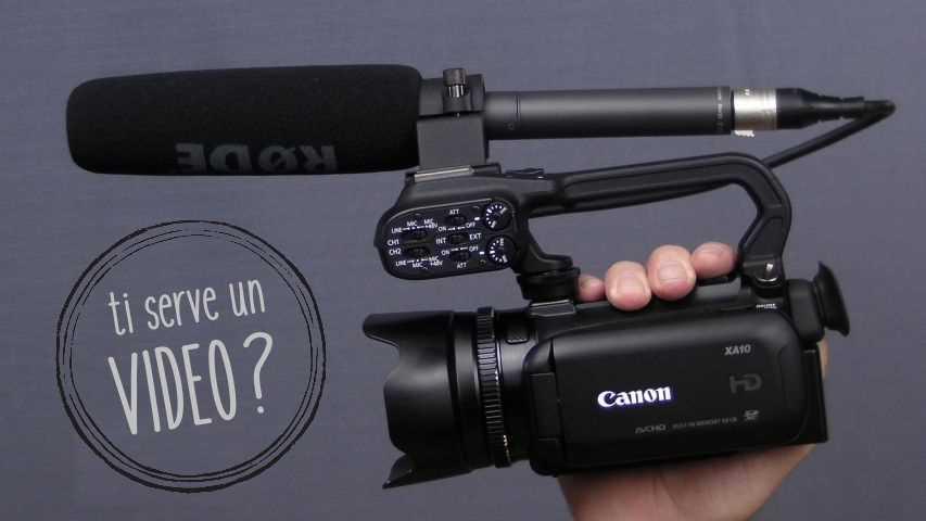 Realizziamo video e prodotti multimediali.